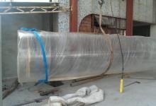 large acrylic cylinder