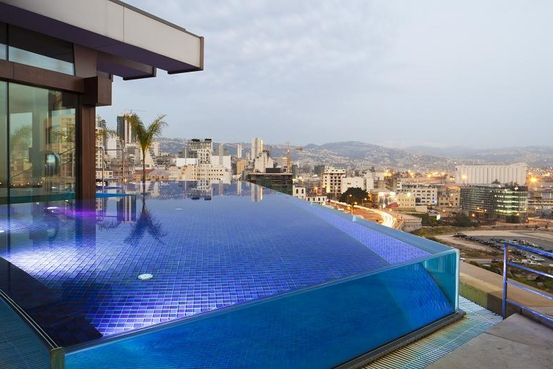 Glass Walled Swimming Pool Mag, Glass Swimming Pool India